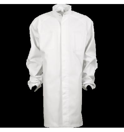 halat alb pentru industria alimentară, pentru bărbați